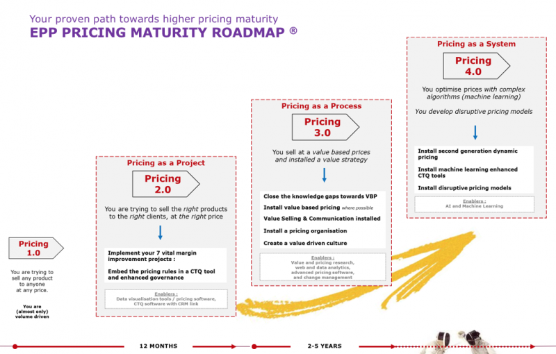 EPP Pricing Maturity Model